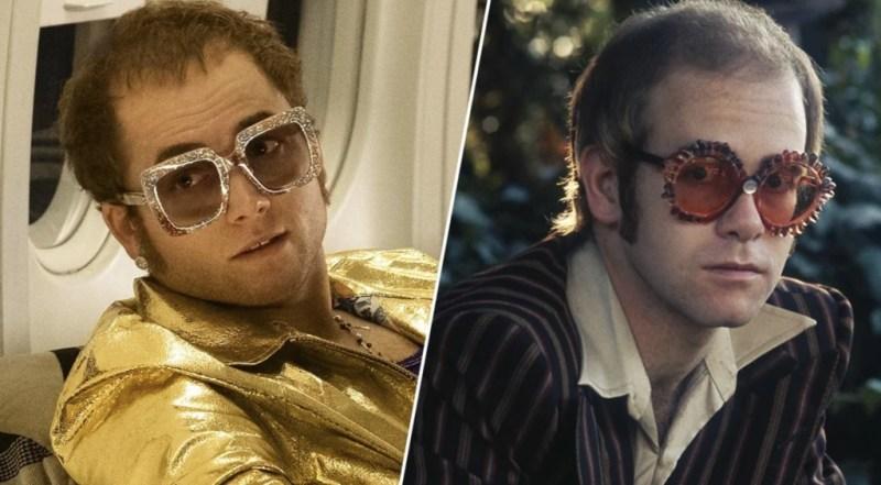 Celebridades que se parecen a los personajes que interpretaron - taron-egerton-como-elton-john-celebridades-que-se-parecen-a-los-personajes-que-interpretaron-instagram-tiktok-coronavirus-economia-2020-hollywood-coffee-susana-distancia