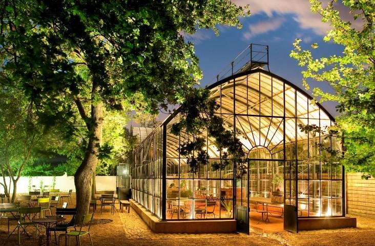 16 de los restaurantes más instagrameables del mundo - babylonstoren-greenhouse-cape-town