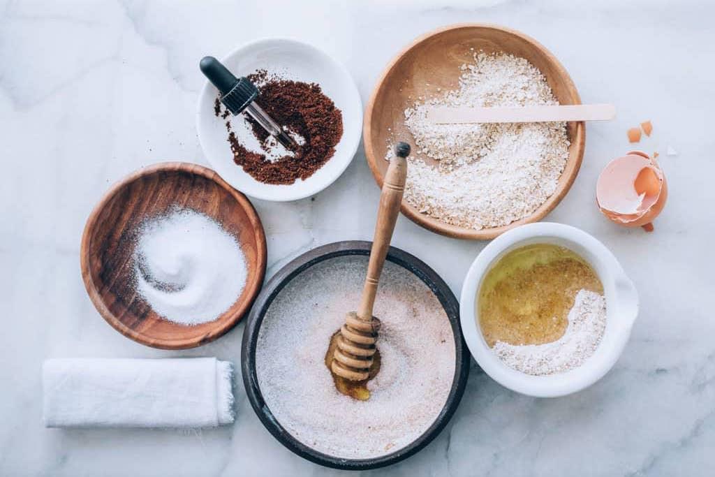 6 exfoliantes naturales que puedes hacer en casa - portada exfoliantes naturales que puedes hacer en tu casa face mask DIY tiktok Instagram en casa coronavirus covid