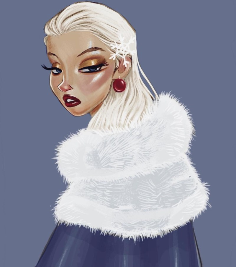 Amit Naftali, un joven ilustrador, dibuja a las princesas de Disney en distintas épocas - amit-naftali-un-joven-ilustrador-dibuja-a-las-princesas-de-disney-en-distintas-epocas-princess-google-online-verano-viajes-google-zoom-instagram-tiktok-foodie-recetas-como-hacer-a-donde-ir-summe-10