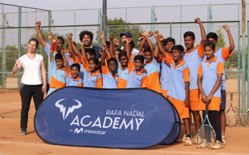 Todo lo que no sabías del tenista Rafael Nadal - anantapur-india-rafael-nadal-tennis-school-todo-lo-que-no-sabias-de-rafael-nadal