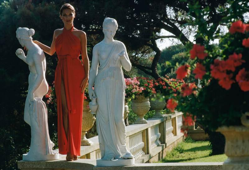 La época de oro de la Riviera Francesa - chrissy-teigen-naya-rivera-fashion-trend