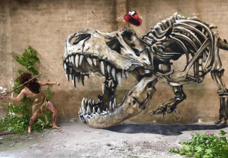@scaf_oner y sus impactantes murales 3D - george-rousse-y-sus-impactantes-murales-3d-tercera-dimension-artista-google-viajes-verano-coronavirus-google-online-nueva-normalidad-restaurantes-2