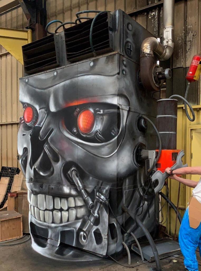 @scaf_oner y sus impactantes murales 3D - george-rousse-y-sus-impactantes-murales-3d-tercera-dimension-artista-google-viajes-verano-coronavirus-google-online-nueva-normalidad-restaurantes-8