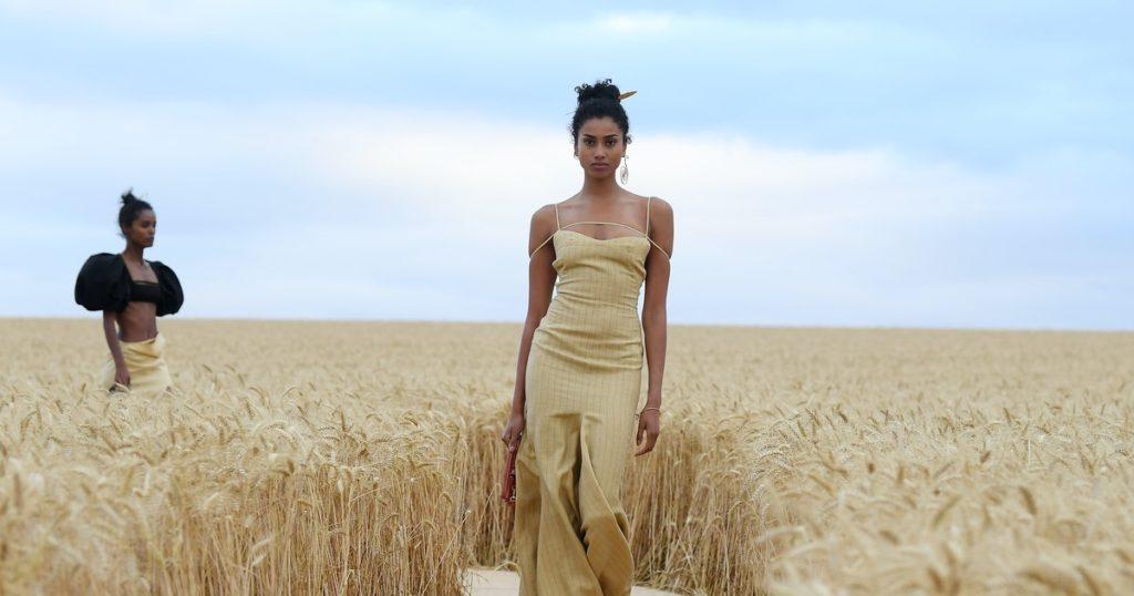 Los top 5 desfiles de moda del 2020 - jaquemus-runway-fashion-2020