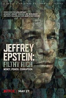 Las mejores series documentales del 2020 - mejores documetnales del 2020. Portada. Jeffrey Epstein