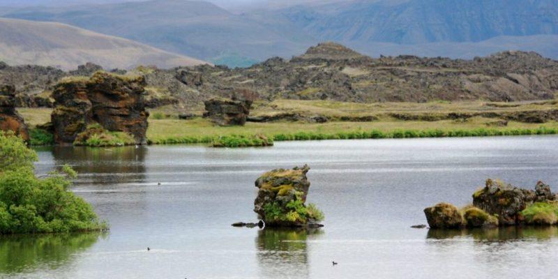Locaciones de Star Wars dentro de nuestra galaxia - star-wars-locaciones-volcan-krafla-y-lagos-myvatn-islandia-base-starkiller
