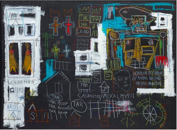 Obra de Basquiat alcanza 10.8 millones en una aplicación de smartphone - Obra de Basquiat alcanza Olvera coronavirus europa league sedena online portada