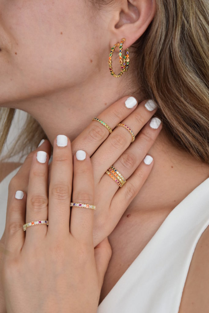 Ring mix and match: cómo hacer el stacking perfecto con tus anillos - stelroze-joyeria