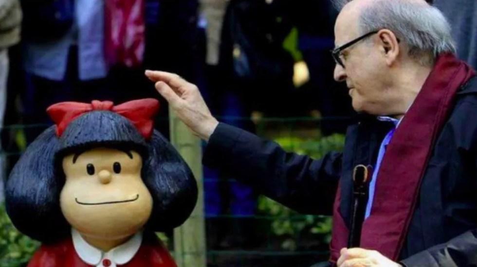 Murió Quino, creador de Mafalda - quino