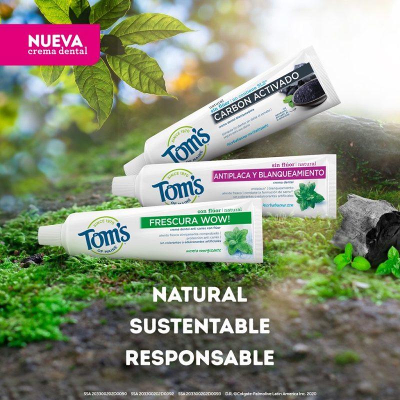 Conoce las presentaciones y los beneficios de la pasta de dientes natural de Tom's of Maine - toms-of-maine-4