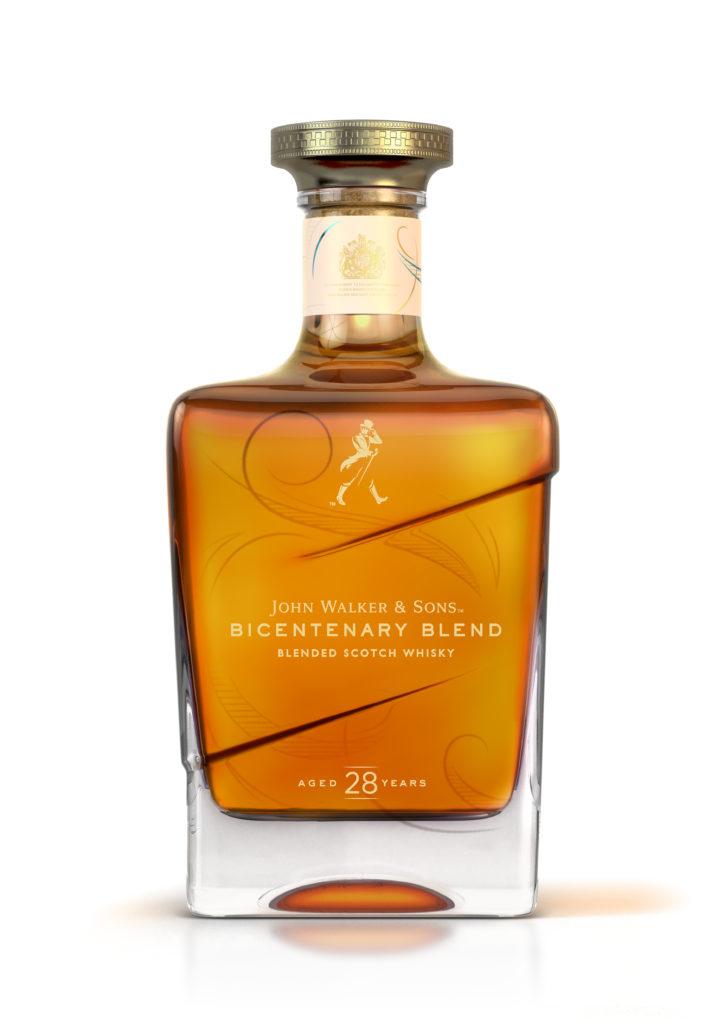 #AnExtraordinaryGift:John Walker & Sons 28 años Bicentenary Blend, el regalo perfecto para esta temporada - bicentennial_bottle_fronton_v5