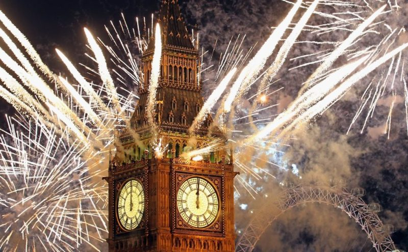 Las mejores ciudades para disfrutar Año Nuevo - londres-las-ciudades-mas-visitadas-en-ancc83o-nuevo-en-ancc83os-pasados
