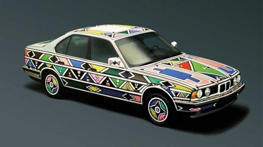 Los 19 BMW art cars más icónicos de la historia - 12-art-cars
