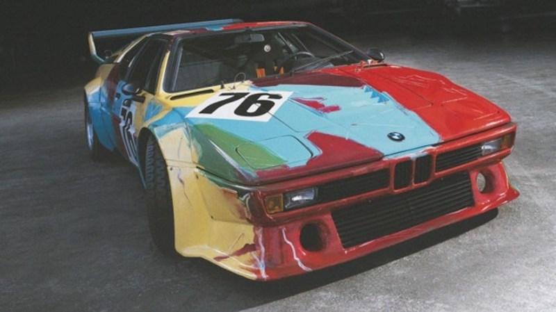Los 19 BMW art cars más icónicos de la historia - 4-art-cars
