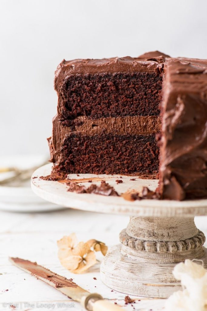 The ultimate healthy chocolate cake, un pastel demasiado bueno para ser verdad - foto-1-the-ultimate-healthy-chocolate-cake