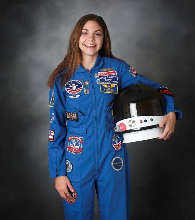 Alyssa Carson, la primera joven astronauta que viajará a Marte en 2030 - PORTADA Alyssa Carson- la primera joven astronauta que viajará a Marte en 2030