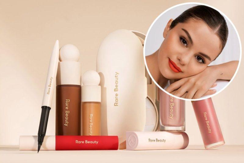 Let's talk beauty! 12 celebridades que crearon exitosos negocios de maquillaje - rare-beauty-selena-gomez-12-celebridades-que-crearon-negocios-exitosos-de-maquillaje-kylie-cosmetics-dogecoin-dia-mundial-contra-el-cancer-napoli-daddy-tankee-nico-golden-globes-awards-nf