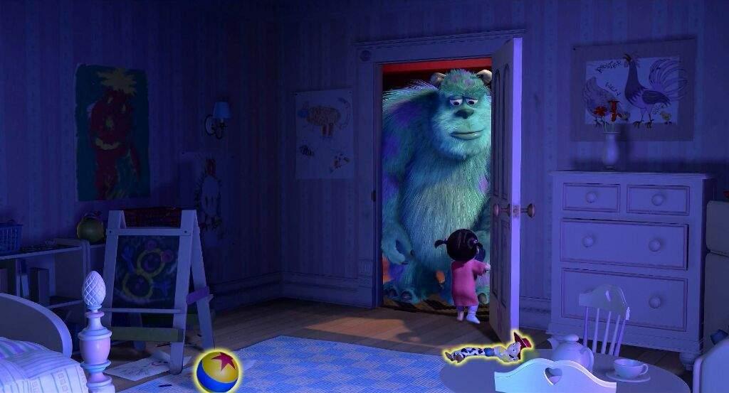 10 detalles que probablemente no habías notado en la película Monsters, Inc. - 10-jessie-y-pelota-de-pixar-en-el-cuarto-de-boo-10-detalles-que-probablemente-no-habias-notado-en-la-pelicula-de-monsters-inc