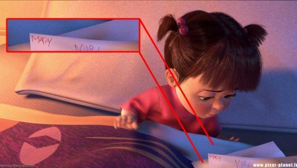 10 detalles que probablemente no habías notado en la película Monsters, Inc. - 4-boo-mary-nombre-verdadero-10-detalles-que-probablemente-no-habias-notado-en-la-pelicula-de-monsters-inc