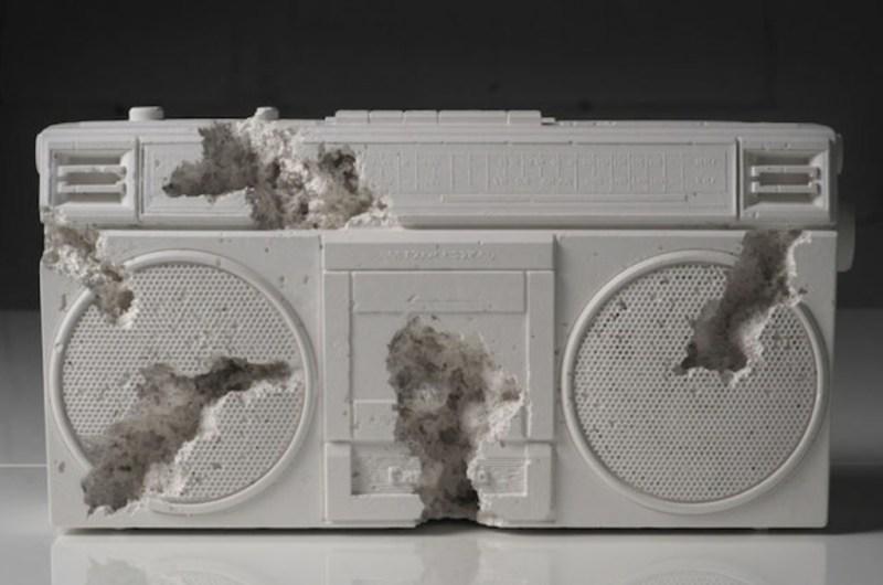 Belleza y destrucción, Daniel Arsham entre la arquitectura y el arte - daniel-arsham-martes-santo-victoria-salazar-baylor-basketball-1