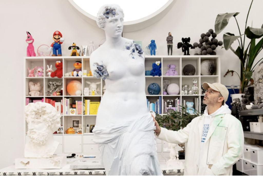 Belleza y destrucción, Daniel Arsham entre la arquitectura y el arte - Daniel Arsham martes santo victoria salazar baylor basketball portada