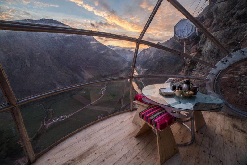 5 lugares en Airbnb con vista espectacular - foto-2-skylodge-adventure-suites-en-urubamba-peru-5-airbnbs-si-estasa-buscando-una-vista-espectacular