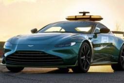 El nuevo safety car de la Fórmula 1 es un Aston Martin Vantage - Nuevo Safety Car F1, Paul Ritter, UEFA Champions League, earthquake warriors Davion Mitchell Aaron Rodgers Portada