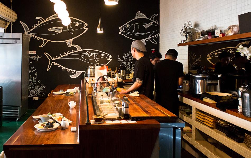 Los mejores restaurantes japoneses en el DF