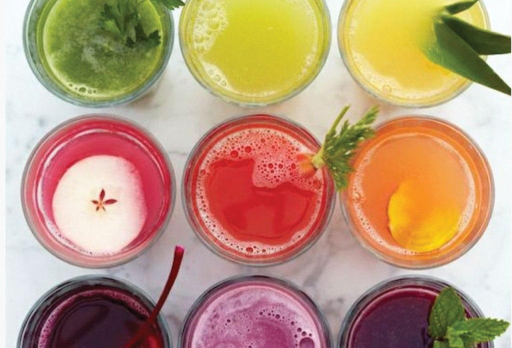 5 beneficios de tomar jugos cold pressed