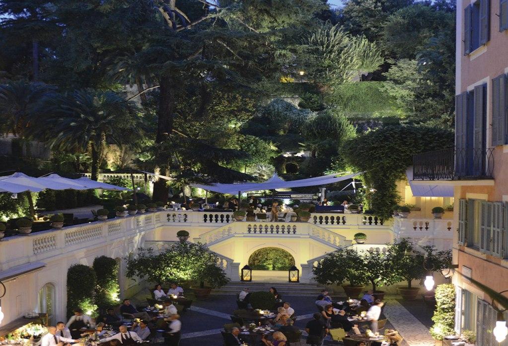 Roma y el Hotel de Russie: un dúo romántico ideal