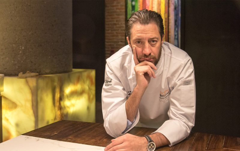Luigi Taglienti y su cocina de la liguria - michellin-chef-luigi-taglienti