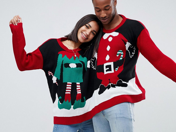 Inspiración para tu próxima Ugly Christmas Sweater Party