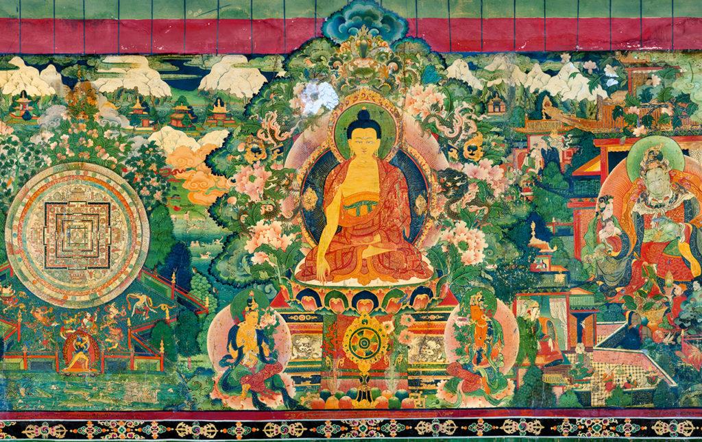 Thomas Laird y los murales del Tíbet
