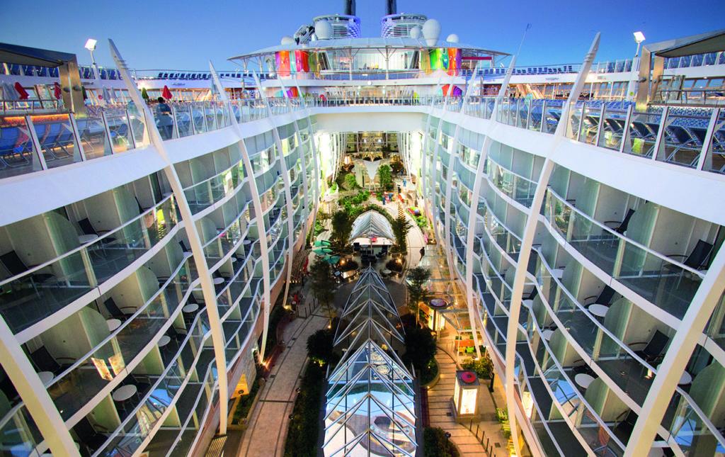 Todos a bordo del Symphony of the Seas, ¡el crucero más grande del mundo!