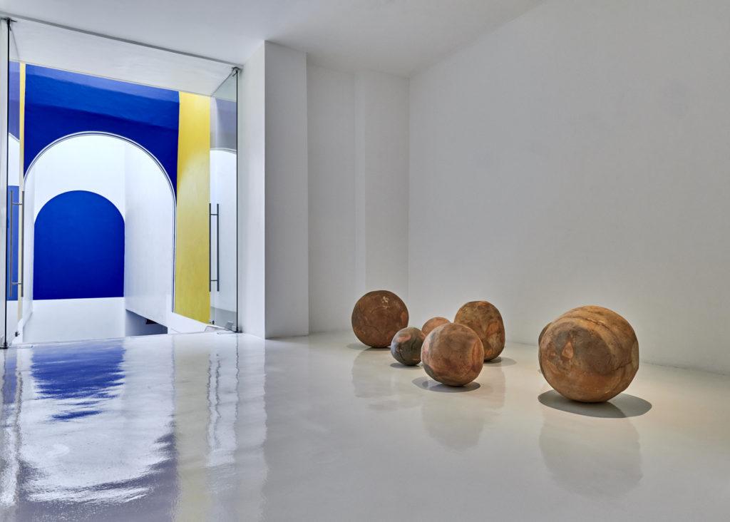 Bosco Sodi en la Galería Hilario Galguera
