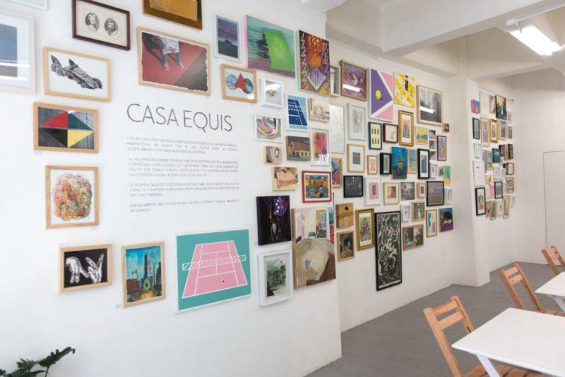 Casa Equis, una galería autogestionada por artistas, celebra su primer aniversario - hotbook20casa20equis20la20galeria20auto-ges-5