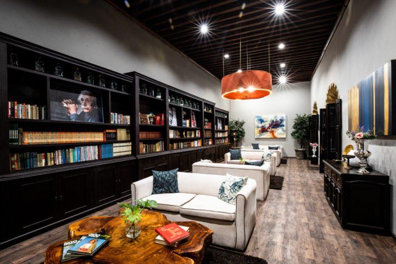 Hotel Mesón de Santa Rosa, un paraíso en Querétaro - mesondesantarosa_biblioteca