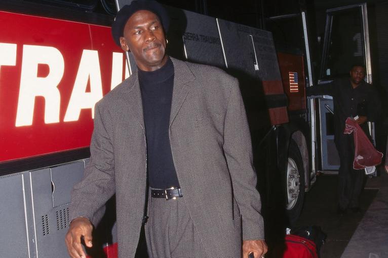 Michael Jordan y su icónico sentido de la moda