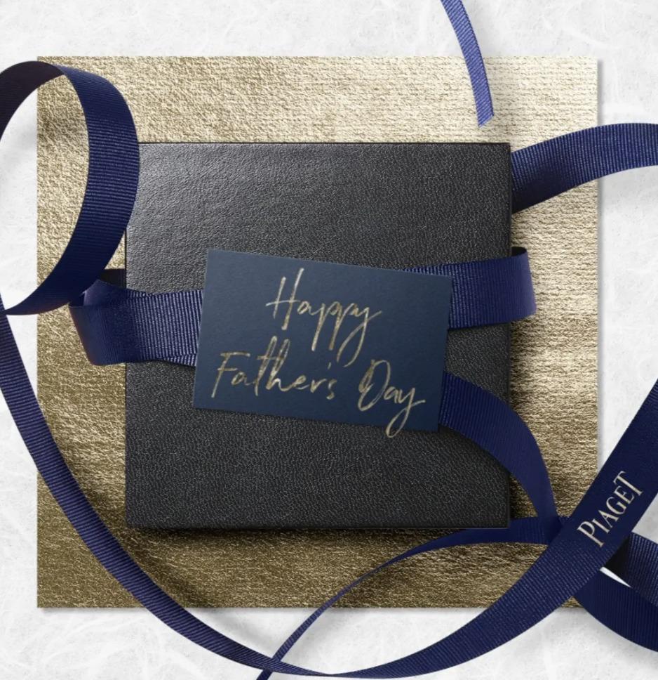 Papá se merece siempre lo mejor y Piaget tiene una selección especial para el Día del Padre