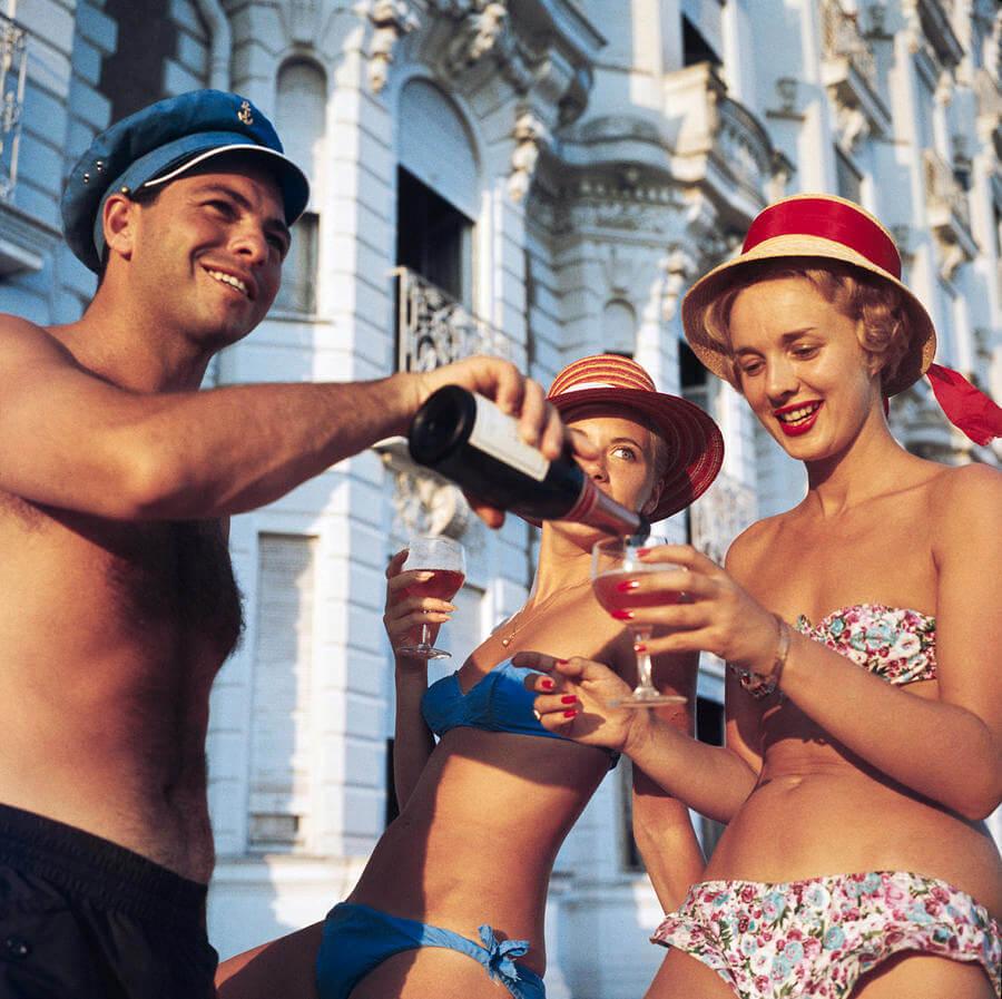 La época de oro de la Riviera Francesa