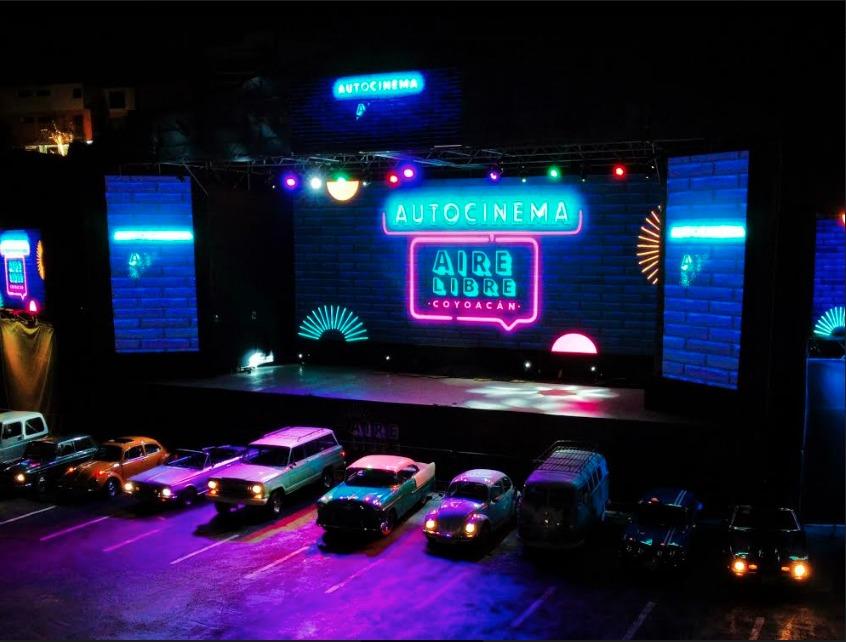 Must para el fin de semana: Autocinema Aire Libre Coyoacán