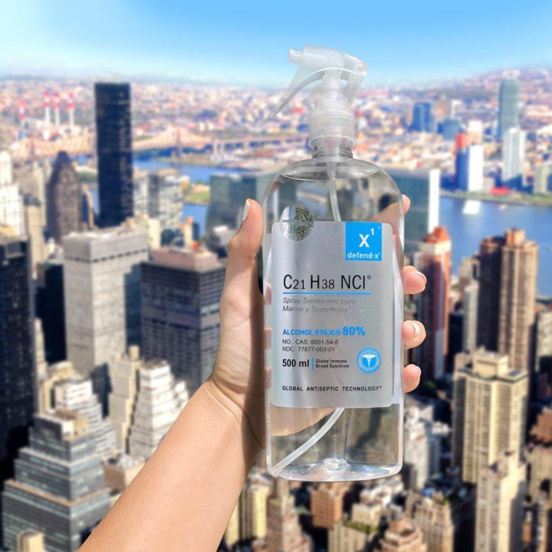 Kill those germs! Conoce Defend-X, el poderoso agente antibacterial - imagen-rascacielo-1