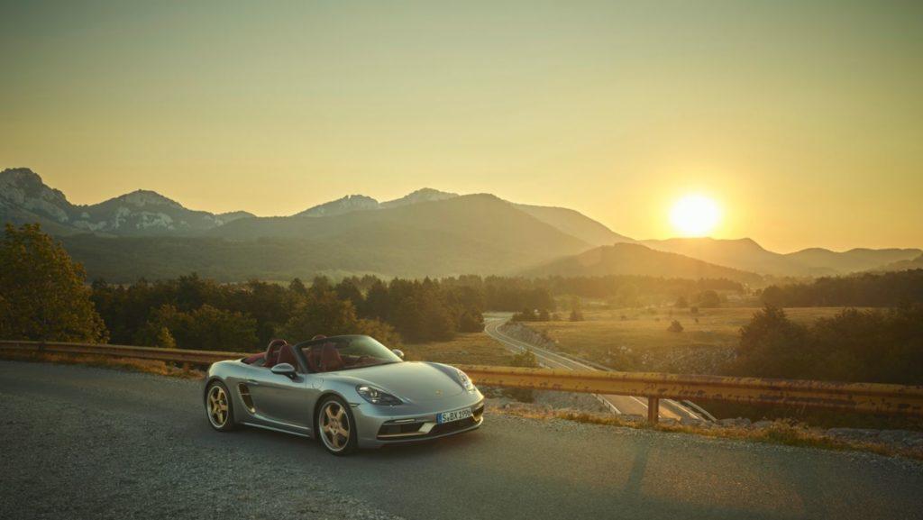 Porsche celebra el 25 aniversario de la familia roadster muy a su manera
