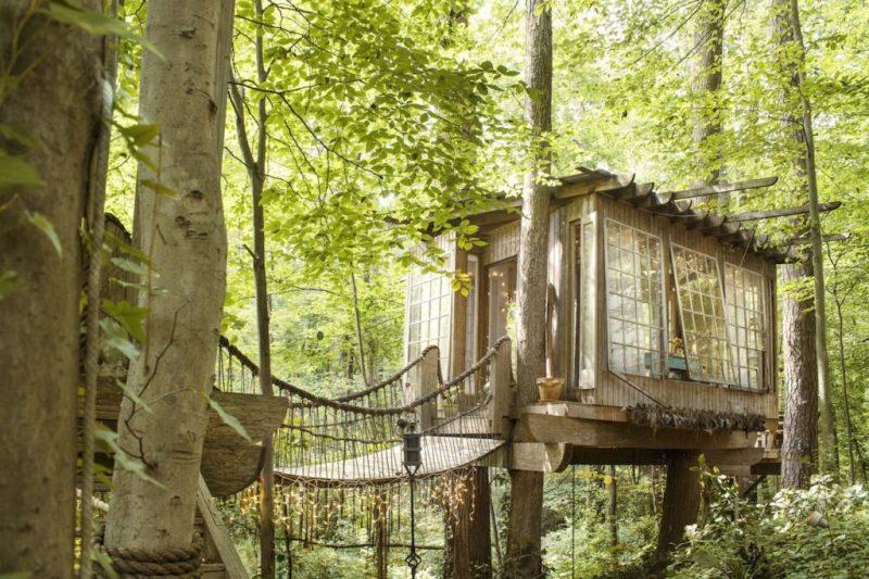 Los 10 Airbnb rentals más inusuales y exclusivos de todo el mundo - la-casa-del-arbol-aislada-en-atlanta-georgia-los-10-rentals-de-airbnb-mas-inusuales-y-exclusivos-de-todo-el-mundo
