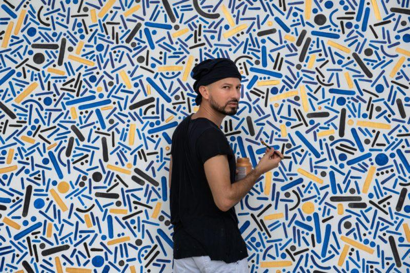 Puntos y líneas, la obra inmersiva de Pipe Yanguas - puntos-y-lineas-la-obra-inmersiva-de-pipe-yanguas-arte-colombia-diseno-mural-6