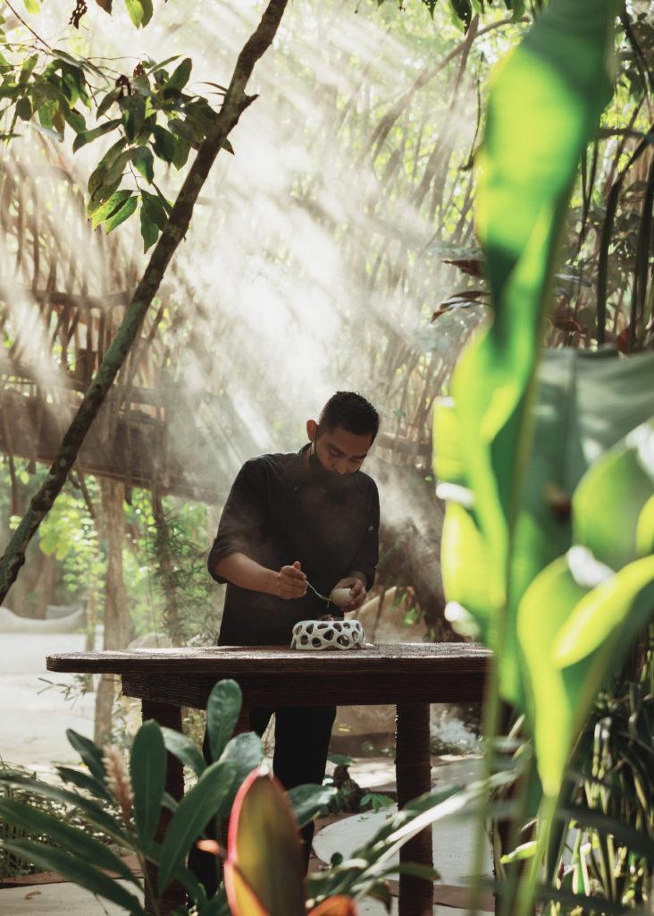 City of Arts, un oasis artístico en Azulik Uh May - 2021-06-10-jungle-cuisine-procesos-3