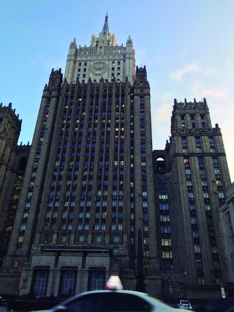 Moscú, entre la nostalgia y el presente - edificio-stalin