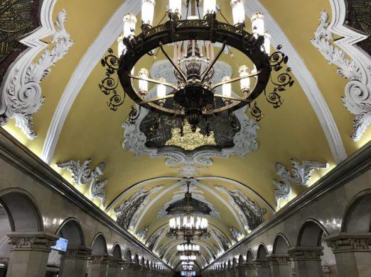 Moscú, entre la nostalgia y el presente - metro-komsomolskaya2jpg