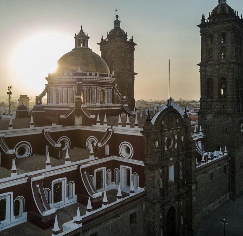 Los mejores spots para pasar un fin de semana en Puebla - catedral-puebla